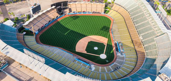DCI Hollow Metal on Demand | Dodger Stadium Remodel Los Angeles California