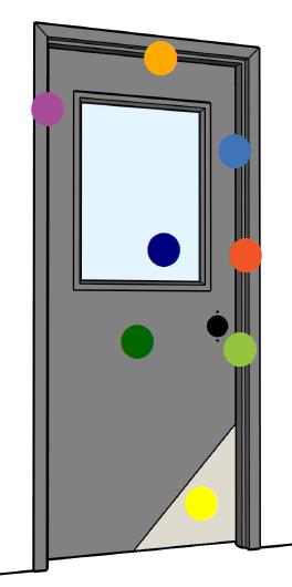 DCI Hollow Metal on Demand   Stainless Steel Doors   Polyurethane Core Doors