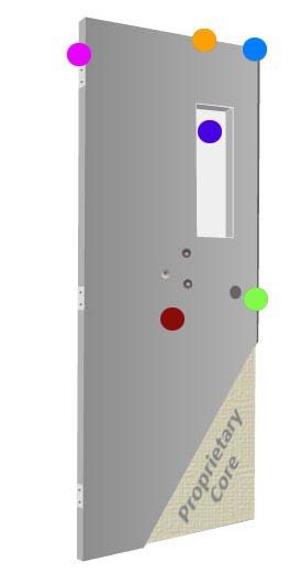 DCI Hollow Metal on Demand | Stainless Steel Doors | Blast Resistant Door